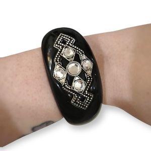 Black Chunky Bracelet